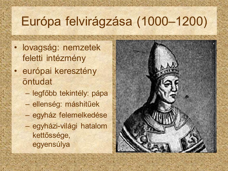 Európa felvirágzása (1000–1200)