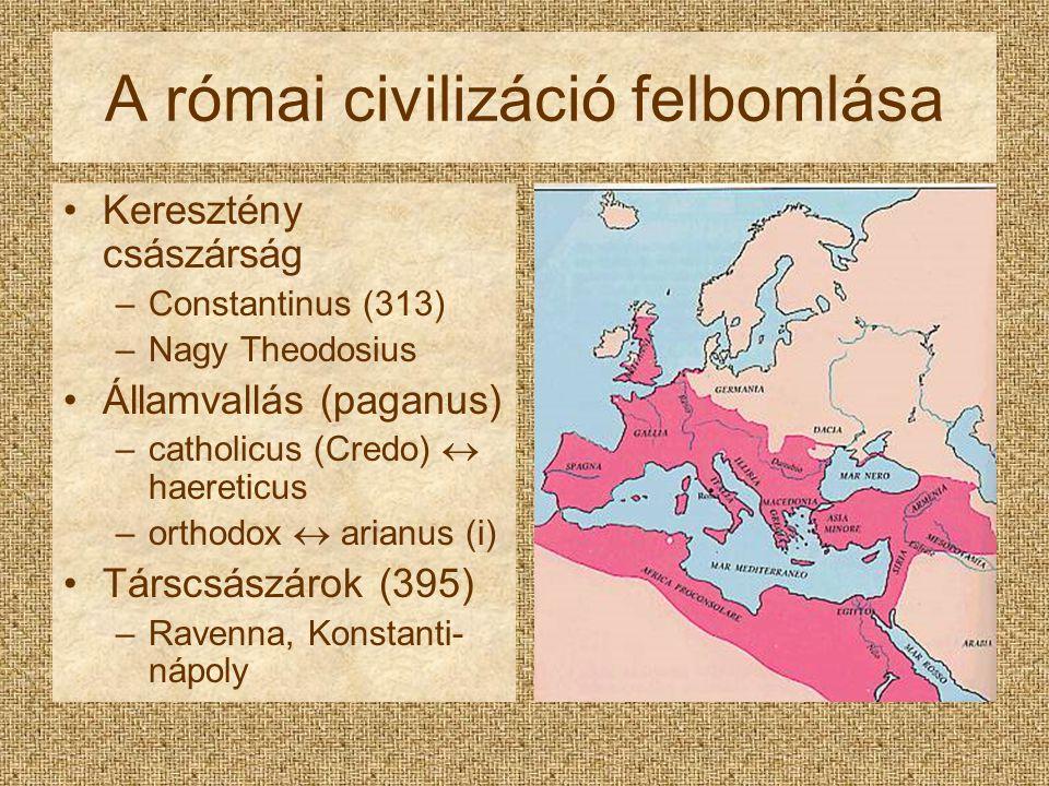 A római civilizáció felbomlása