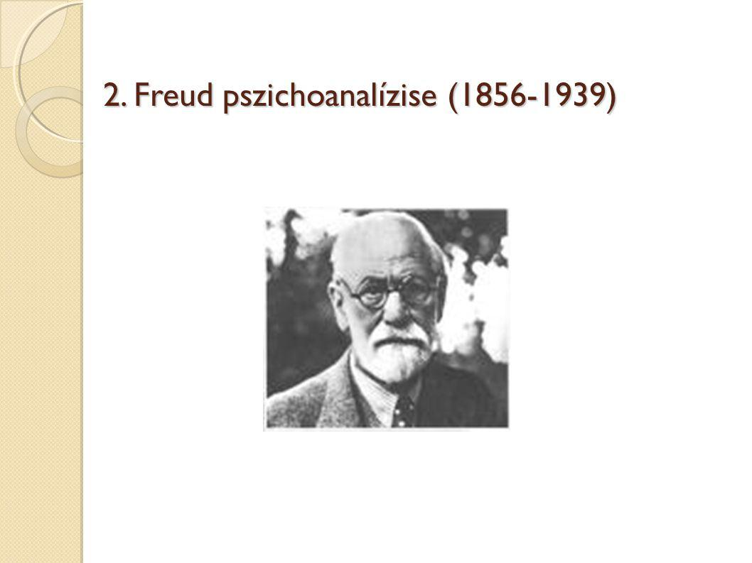 2. Freud pszichoanalízise (1856-1939)