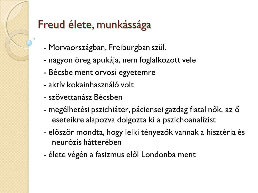 Freud élete, munkássága