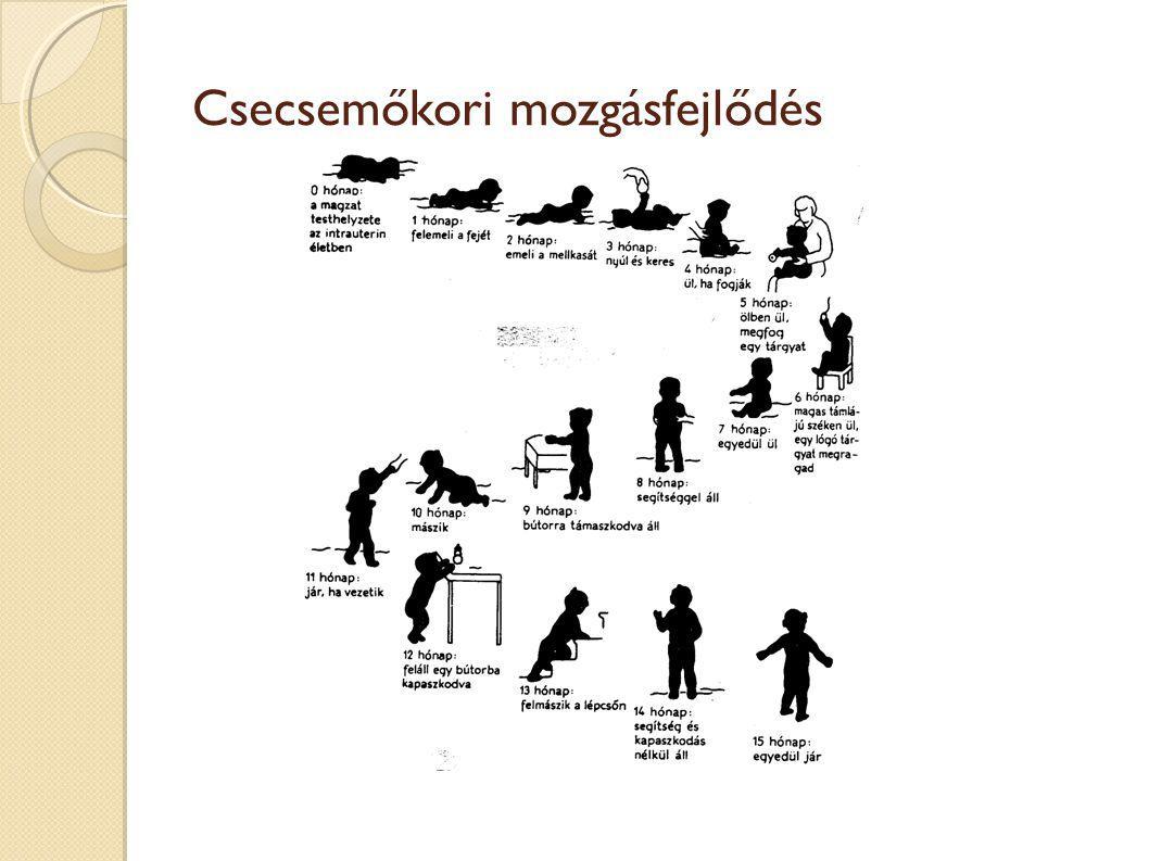 Csecsemőkori mozgásfejlődés