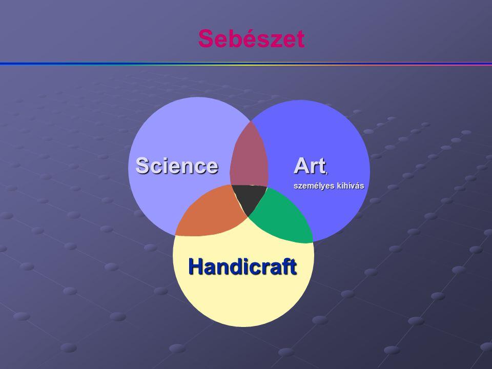 Sebészet Science Art, személyes kihívás Handicraft