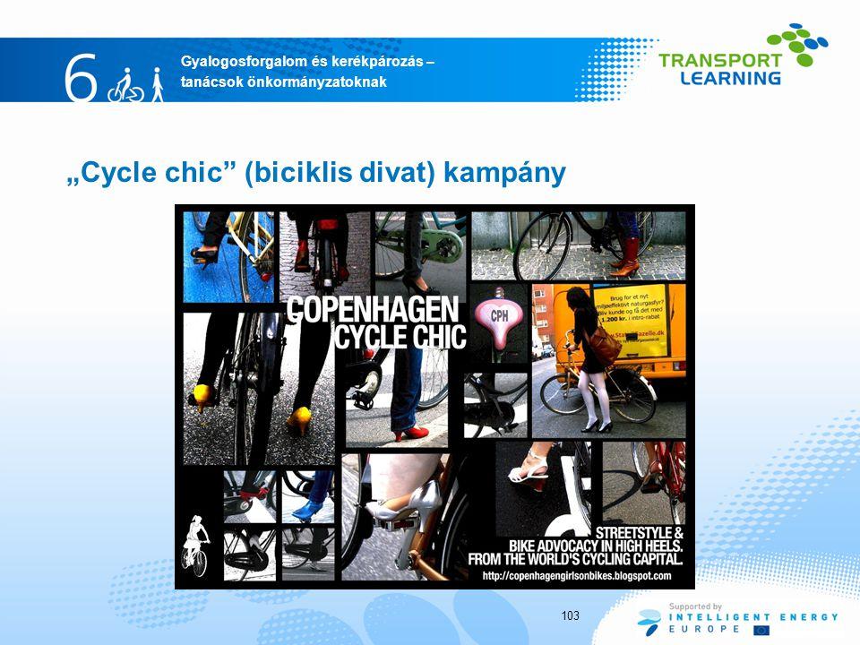 """Cycle chic (biciklis divat) kampány"