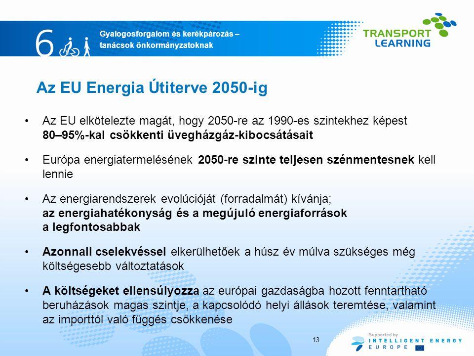 Az EU Energia Útiterve 2050-ig