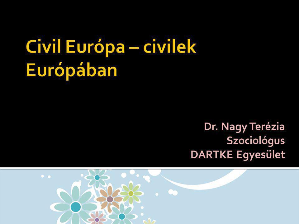 Civil Európa – civilek Európában