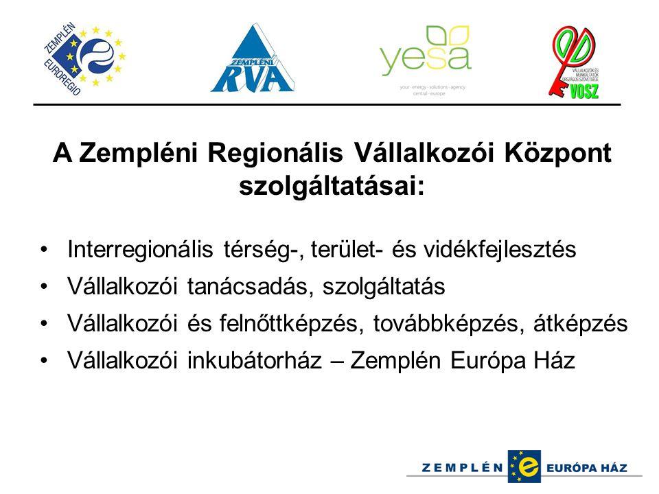 A Zempléni Regionális Vállalkozói Központ