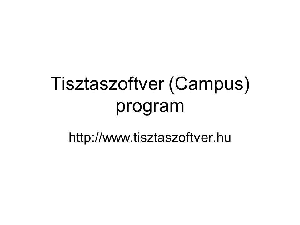 Tisztaszoftver (Campus) program