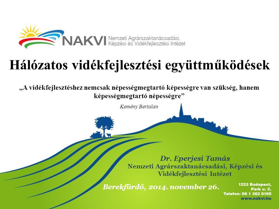 Hálózatos vidékfejlesztési együttműködések