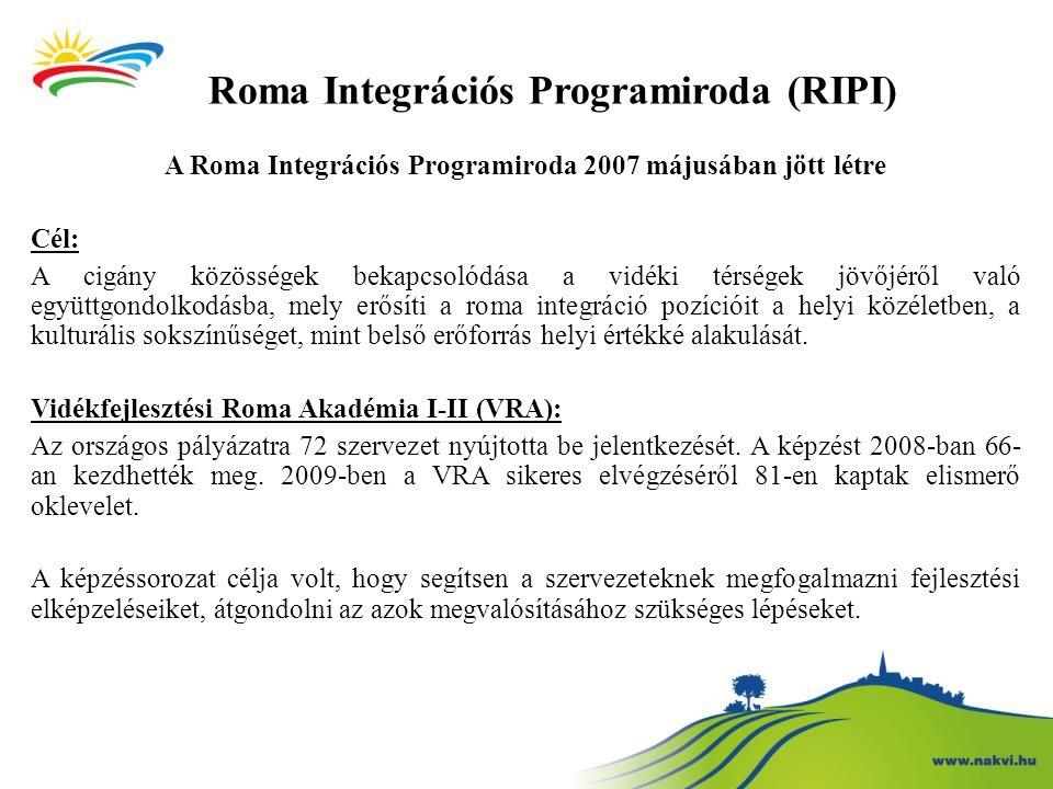 Roma Integrációs Programiroda (RIPI)