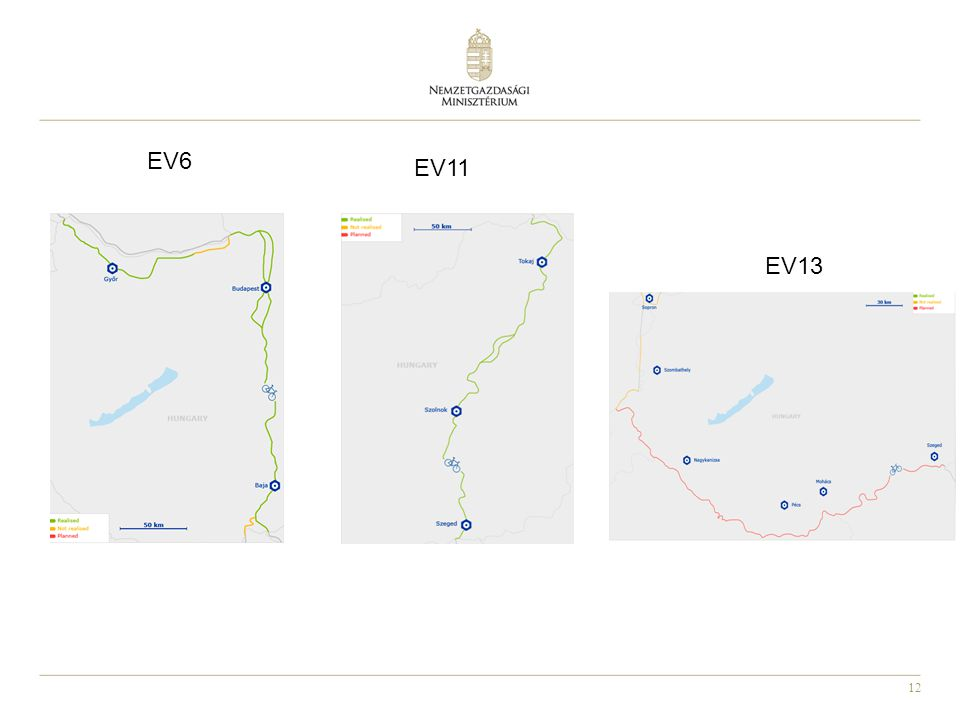 EV6 EV11 EV13