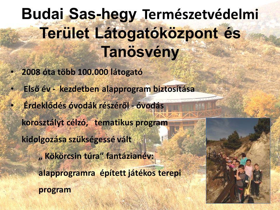 Budai Sas-hegy Természetvédelmi Terület Látogatóközpont és Tanösvény