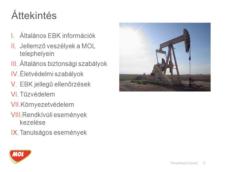 Áttekintés Általános EBK információk