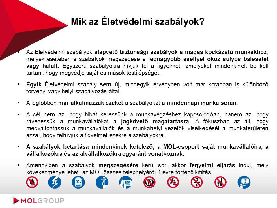 Mik az Életvédelmi szabályok