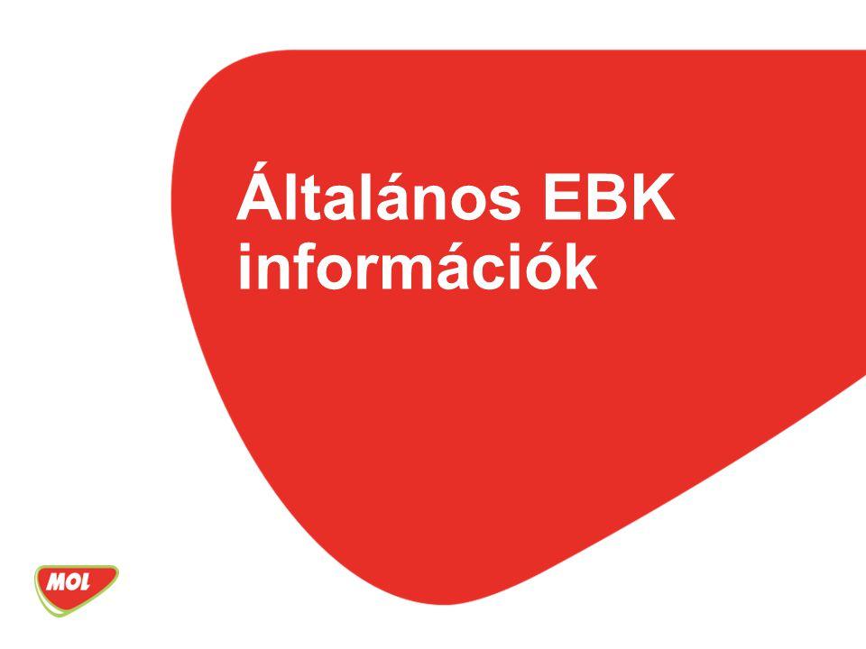 Általános EBK információk