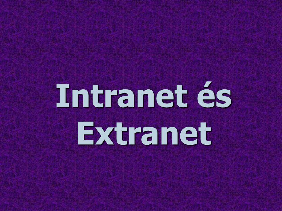 Intranet és Extranet