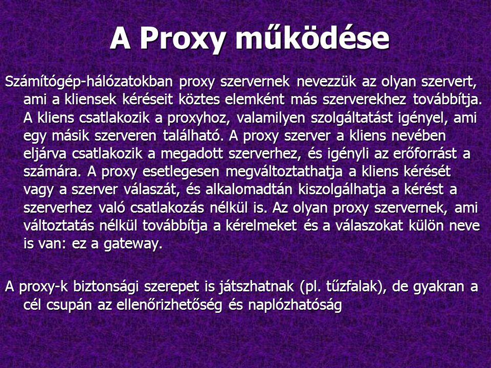 A Proxy működése