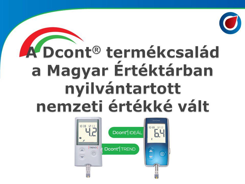 A Dcont® termékcsalád a Magyar Értéktárban nyilvántartott nemzeti értékké vált