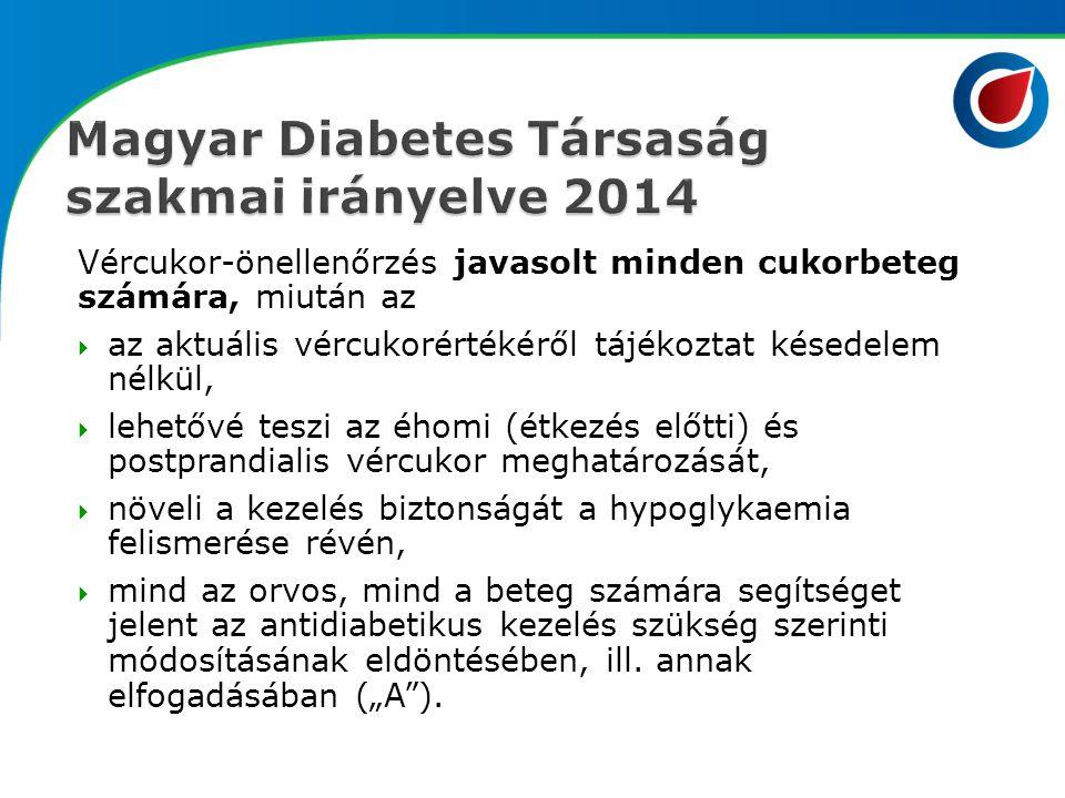 Magyar Diabetes Társaság szakmai irányelve 2014