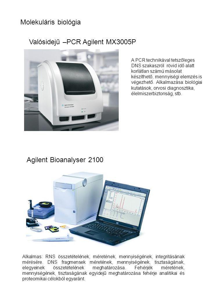 Valósidejű –PCR Agilent MX3005P