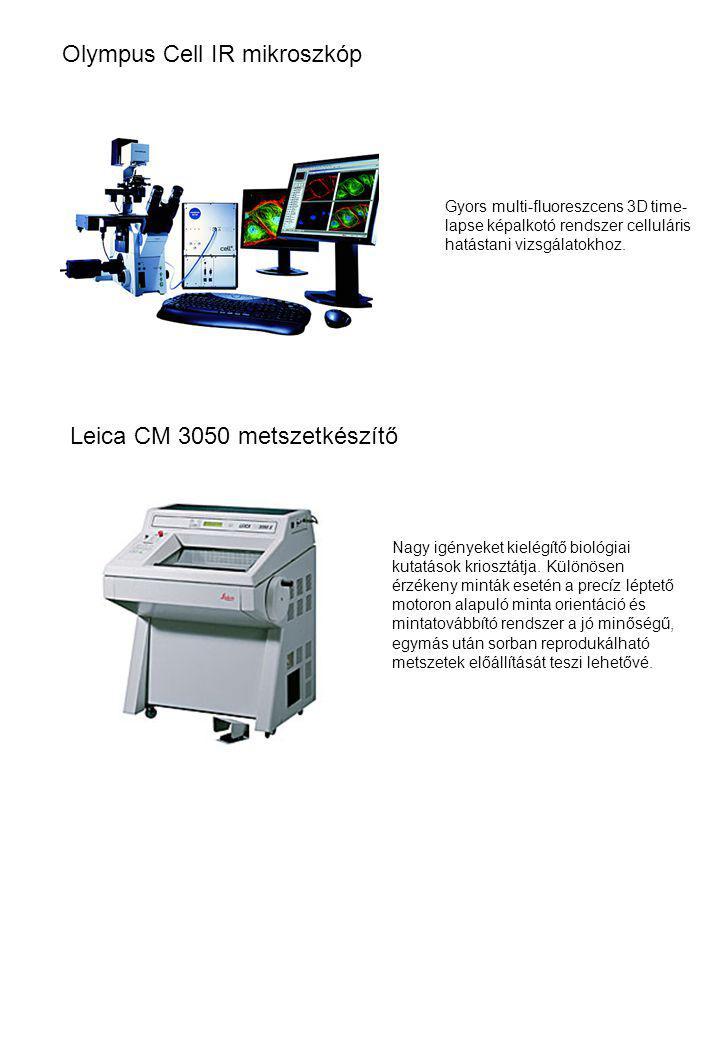 Olympus Cell IR mikroszkóp