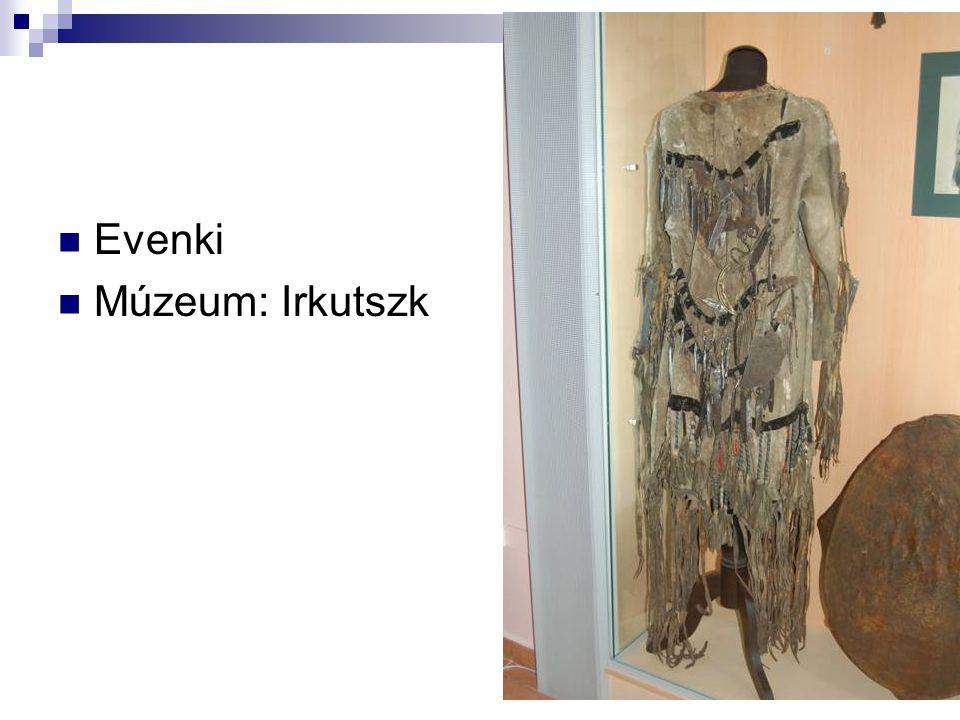Evenki Múzeum: Irkutszk