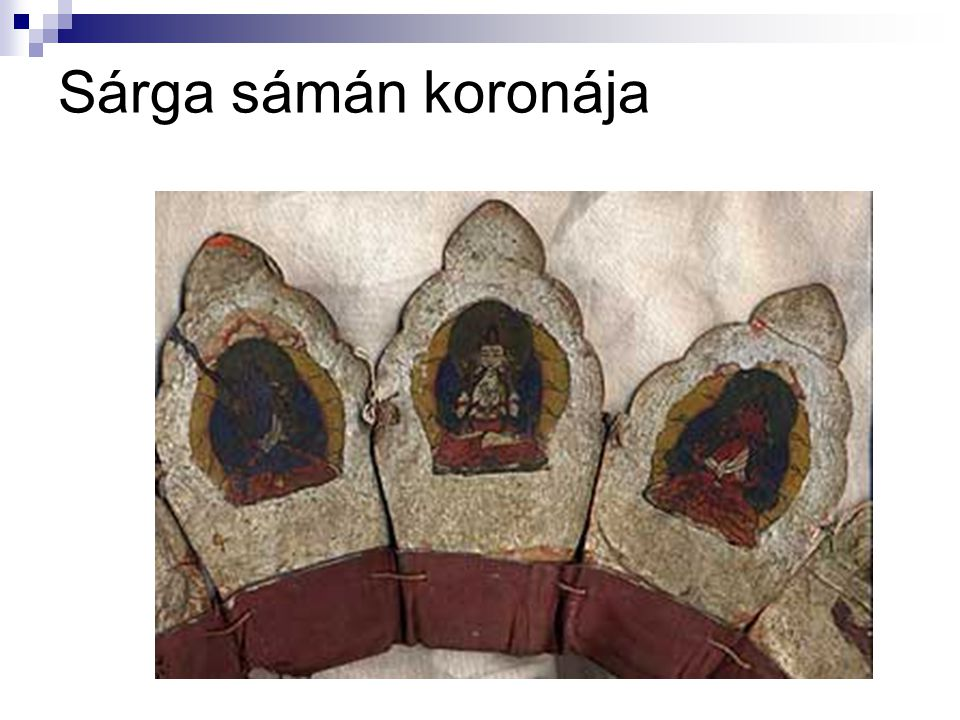 Sárga sámán koronája