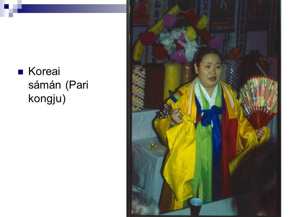 Koreai sámán (Pari kongju)