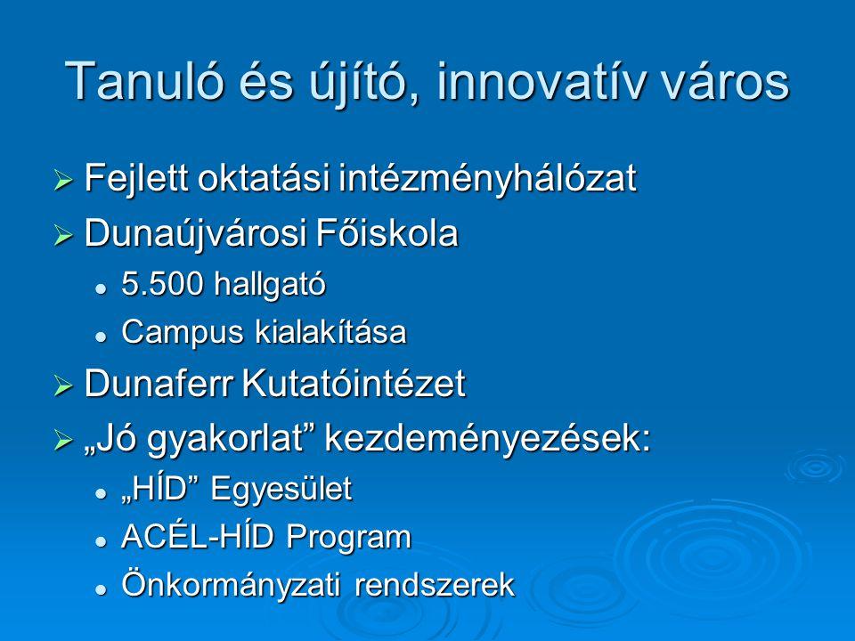 Tanuló és újító, innovatív város