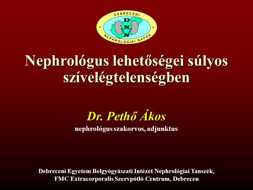 Nephrológus lehetőségei súlyos szívelégtelenségben