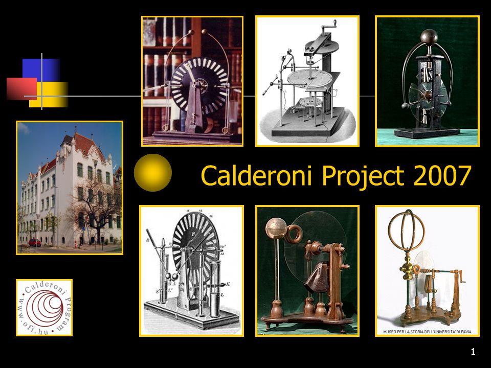 Calderoni Project 2007