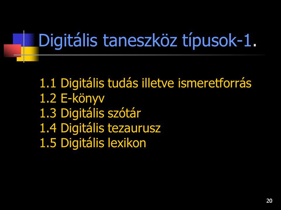 Digitális taneszköz típusok-1.