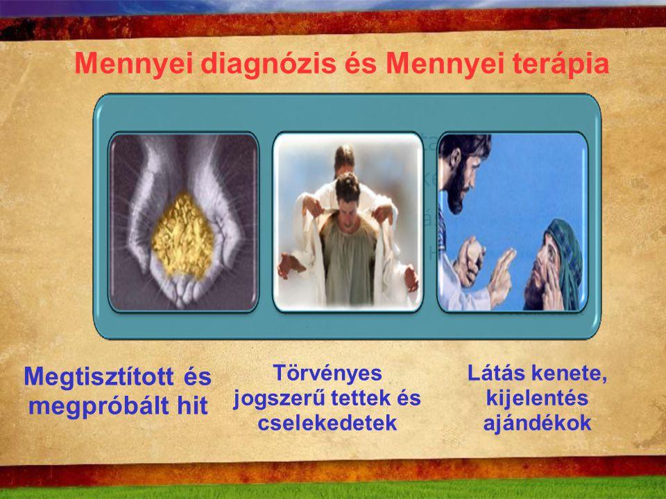 Mennyei diagnózis és Mennyei terápia