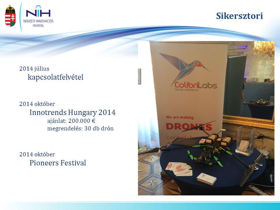 Sikersztori kapcsolatfelvétel Innotrends Hungary 2014