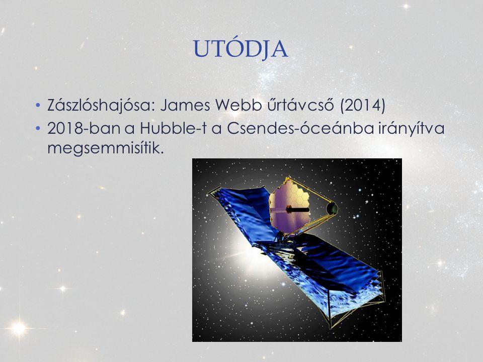 Utódja Zászlóshajósa: James Webb űrtávcső (2014)