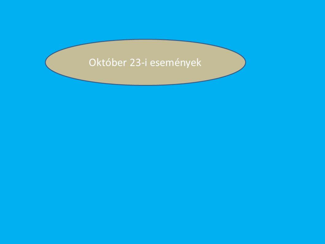 Október 23-i események