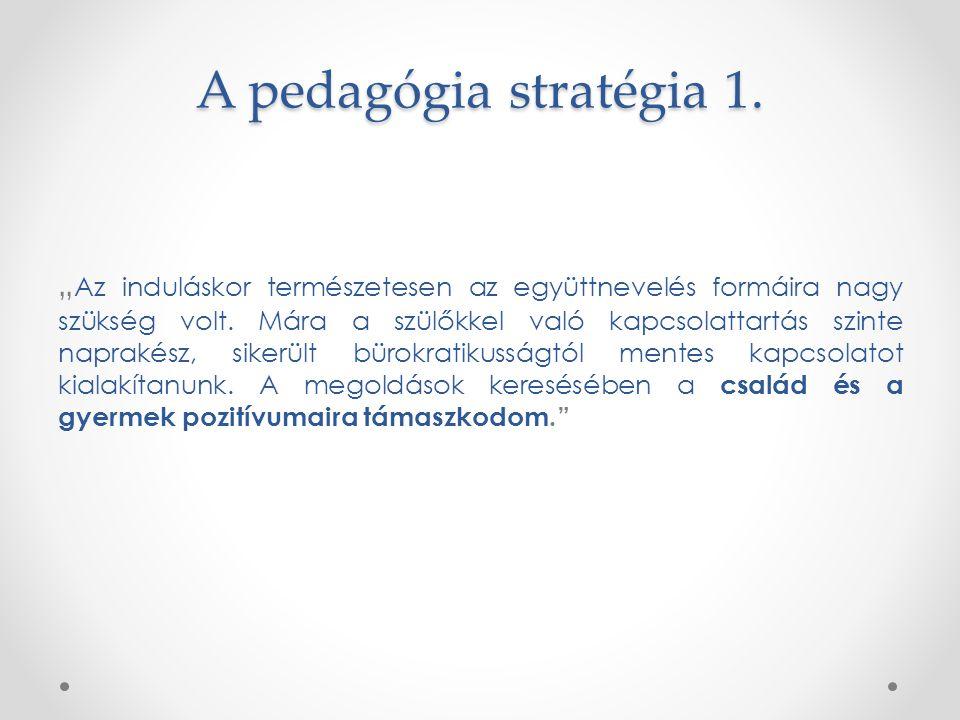 A pedagógia stratégia 1.