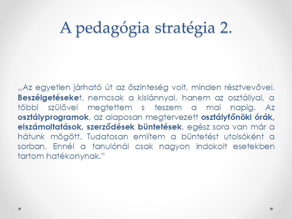 A pedagógia stratégia 2.