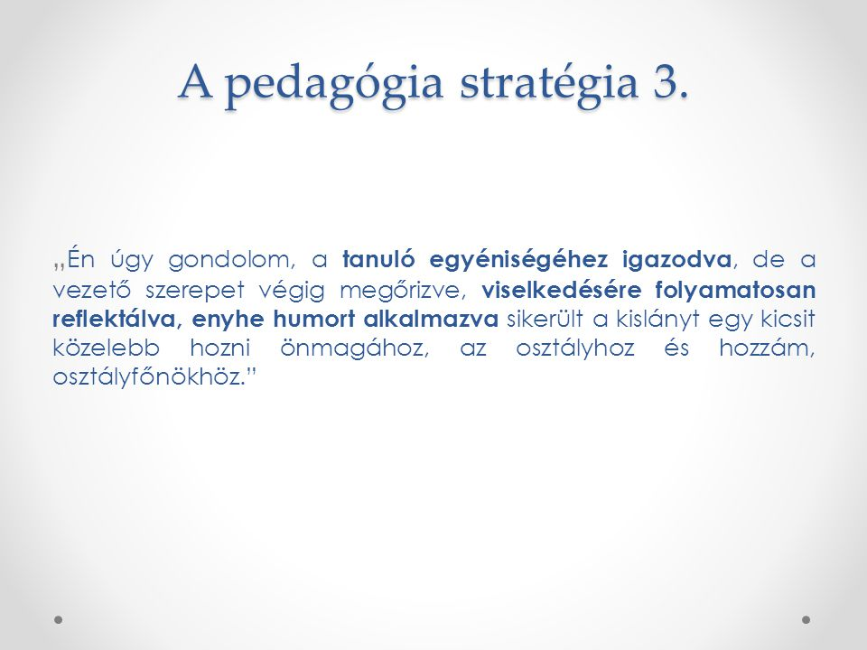 A pedagógia stratégia 3.