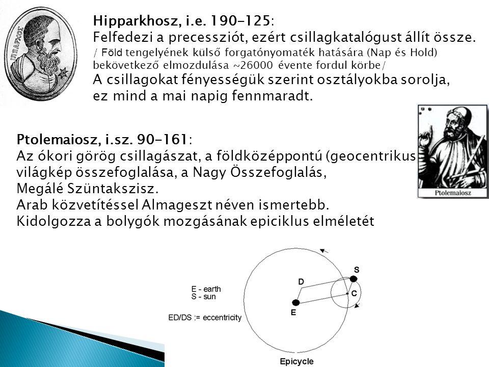 Hipparkhosz, i.e. 190-125: