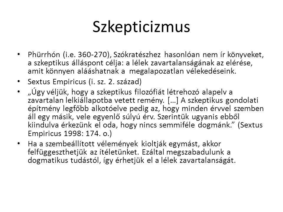 Szkepticizmus