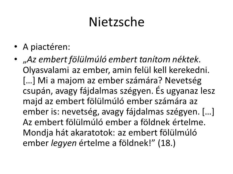 Nietzsche A piactéren: