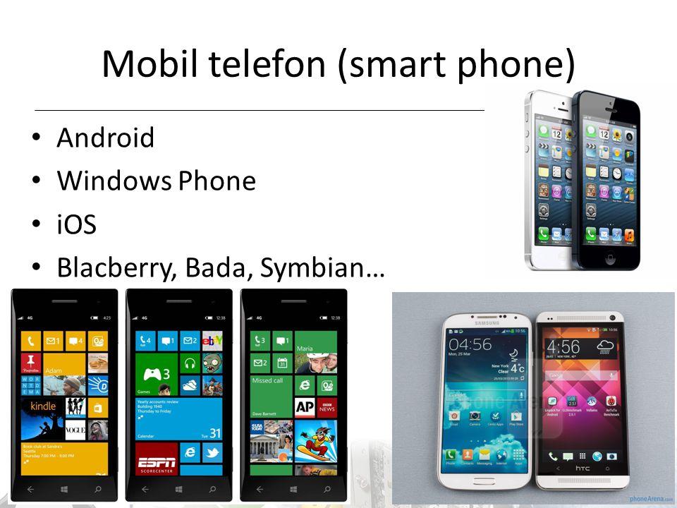Mobil telefon (smart phone)