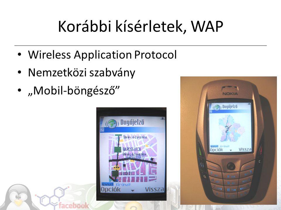 Korábbi kísérletek, WAP
