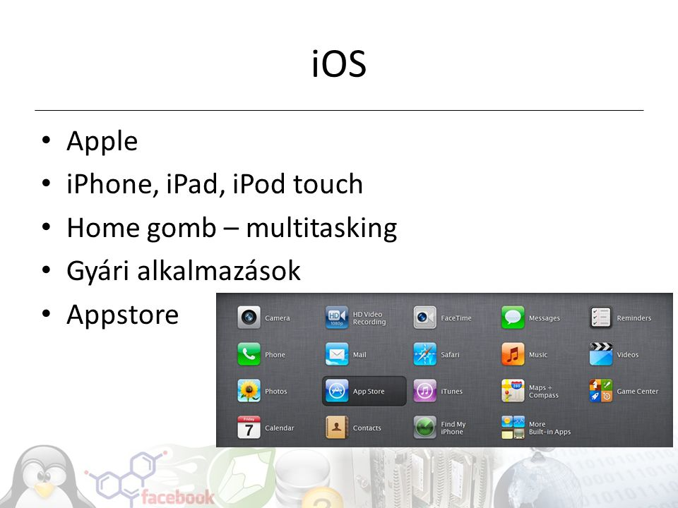 iOS Apple iPhone, iPad, iPod touch Home gomb – multitasking