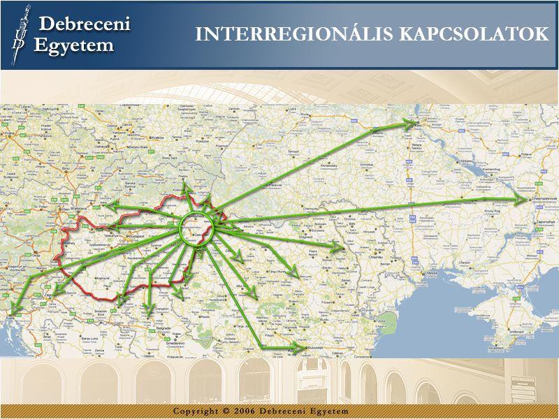 INTERREGIONÁLIS KAPCSOLATOK
