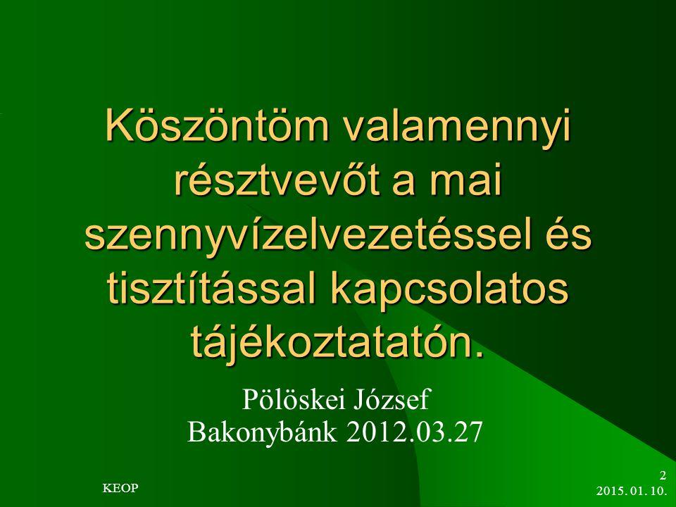 Pölöskei József Bakonybánk 2012.03.27