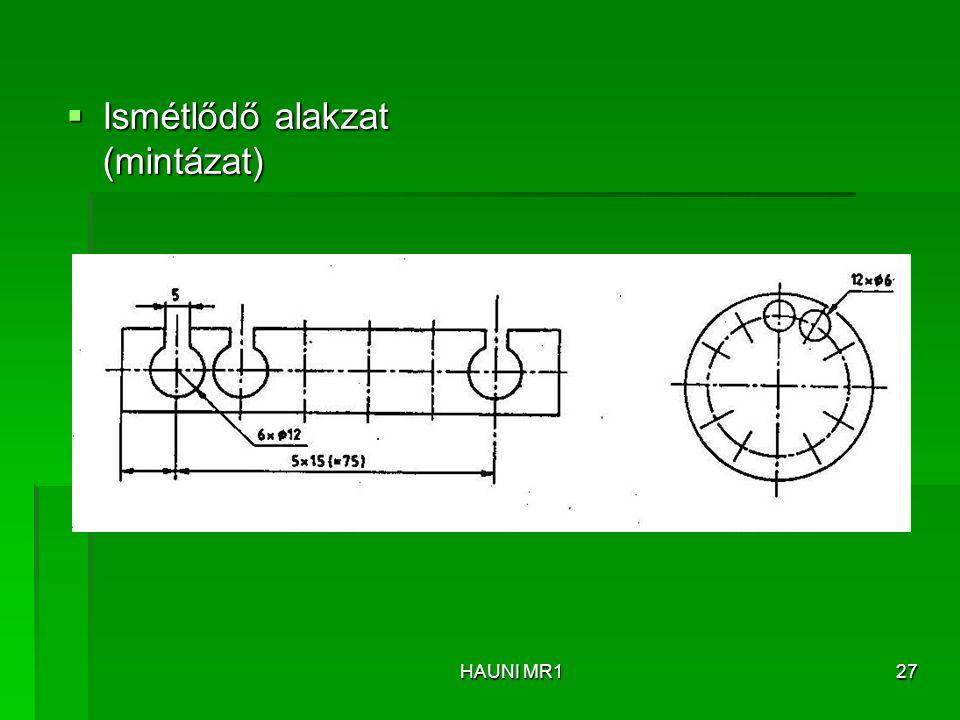 Ismétlődő alakzat (mintázat)
