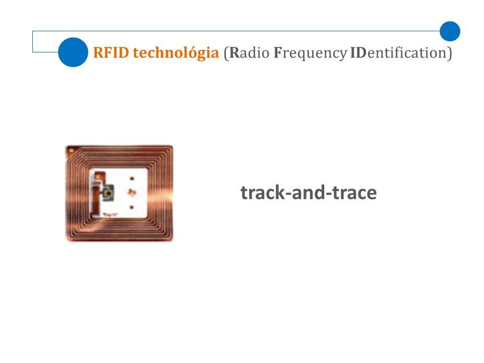 RFID technológia (Radio Frequency IDentification)
