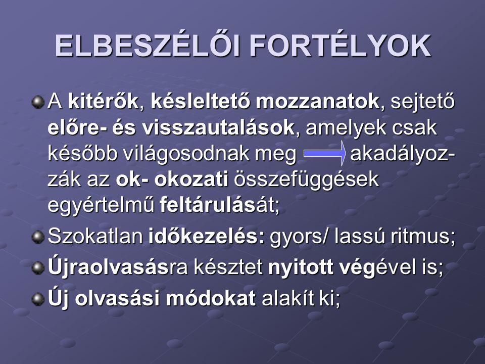 ELBESZÉLŐI FORTÉLYOK