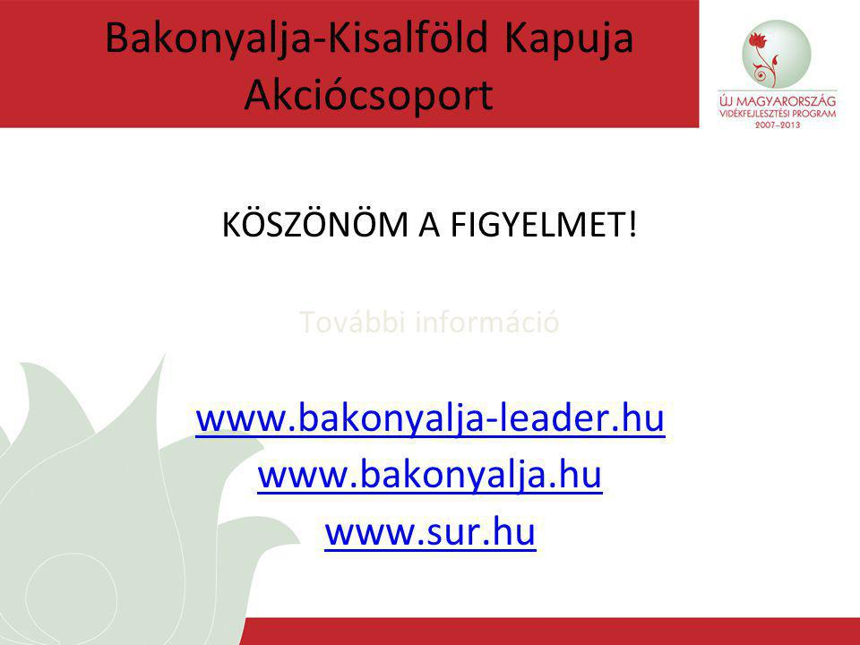 Bakonyalja-Kisalföld Kapuja Akciócsoport